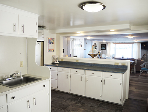 Trout Brook kitchen area