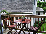 Lakeview Cottage deck