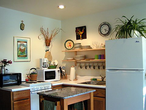 Lakeview Cottage kitchen
