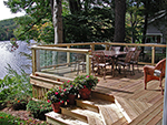 Friendship Lodge deck