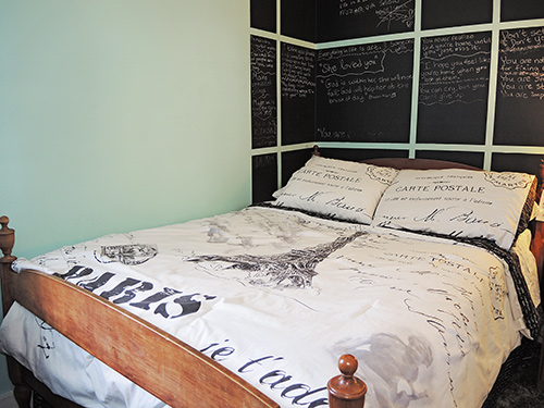 Athletes' Place bedroom