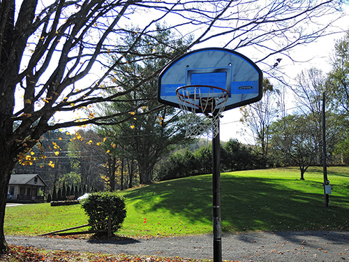 Athletes' Place basketball hoop