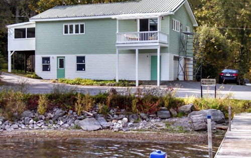 Trout Brook  unit 3 + 4 overlooking waterfront