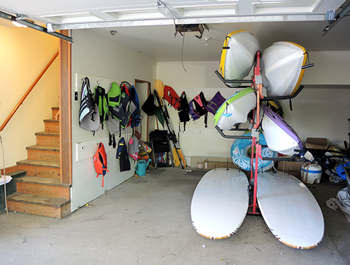 Trout Brook shared paddle sports inventory