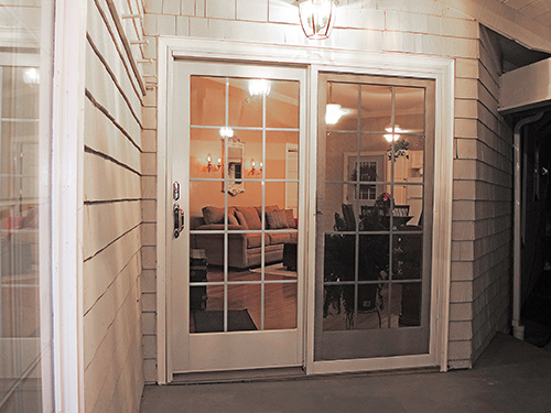Breezy Point entry door from porch