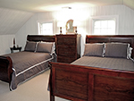 1820 Schoolhouse Farm bedroom with 2 double beds
