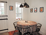 1820 Schoolhouse Farm breakfast nook