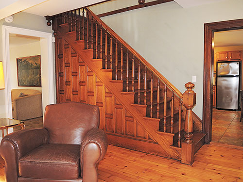 1825 Farmhouse handcrafted staircase