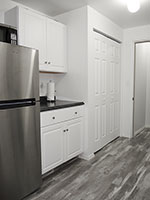 Alder Meadows fridge and counter space