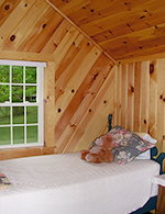 Lakeside Cabin bedroom