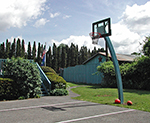 The Weathervane basketball court