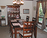 Partridge Pond dining room