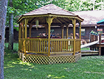 Adventure Woodlands gazebo