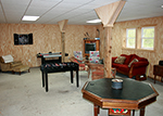 Amish Barn game room