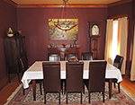 Dunlop House dining room