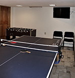 76 Elm Apartment game room
