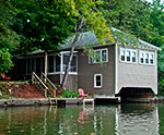 Amy's Boathouse exterior