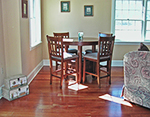 The Guest Cottage dining area