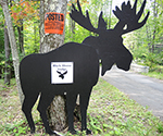 Black Moose sign