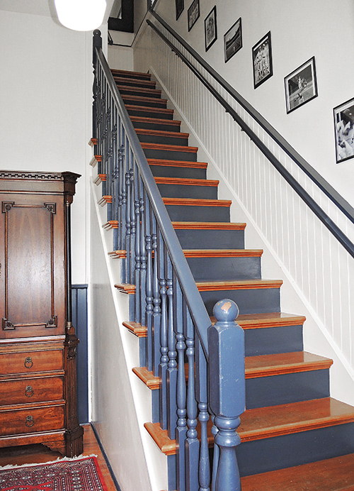 Amy's Schoolhouse staircase