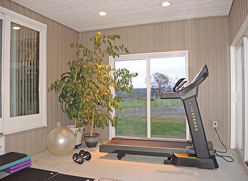 Phoenix Hill workout room