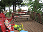 Rose Cottage deck