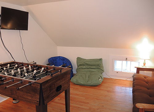 Peterson Place game room